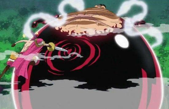 在海贼王蛋糕岛篇中,拥有饼干果实的克力架很难缠,他可以利用饼干果实