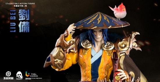 王者荣耀可动人偶 刘备