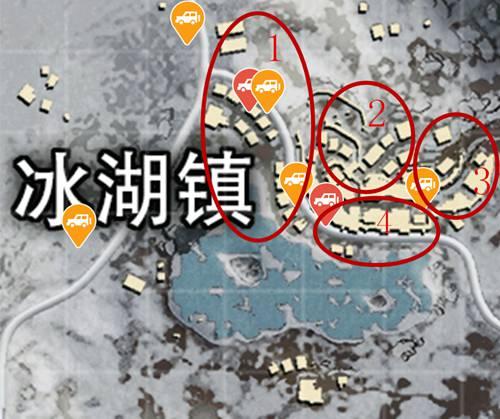 和平精英雪地地图