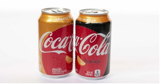 10年了,可口可乐终于又推出新口了,这回是橙子香草味