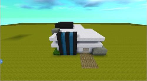 迷你世界简单小别墅建造方法!如何搭建一个简单现代风小别墅?那就来看下下面的内容吧!教你轻松容易做一个简约大气的迷你世界小别墅! 作者:啊鹏(迷你号:74654702) 第一步:先把地基搭建出来如下图所示进行搭建;
