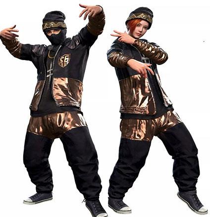 绝地求生刺激战场S6嘻哈套装
