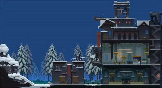 雪夜古堡地图