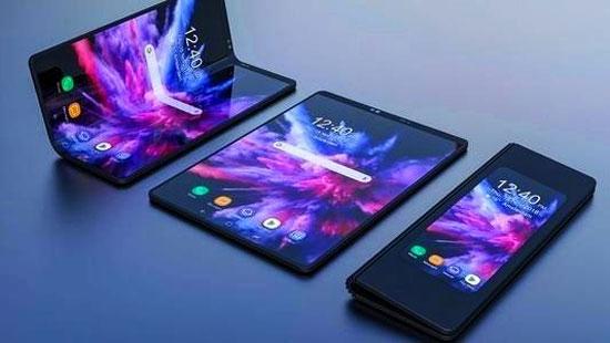 华为5G折叠手机