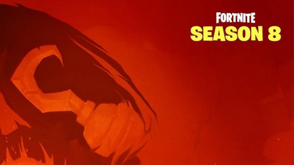 堡垒之夜第八赛季第一张海报 火色海盗