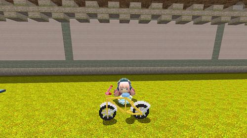 迷你世界微缩自行车1