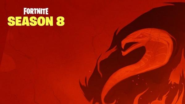 堡垒之夜第八赛季第二张海报 洞穴来客