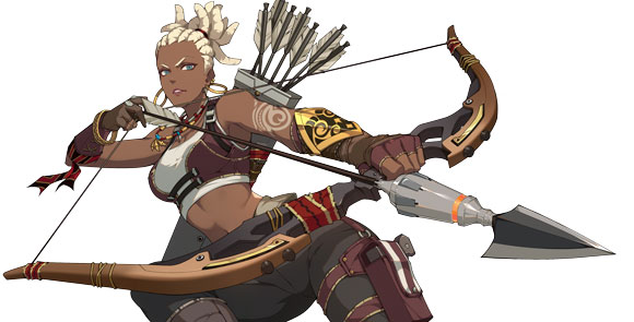 王牌战士猎手莫甘