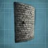 方舟生存进化弯曲石头墙