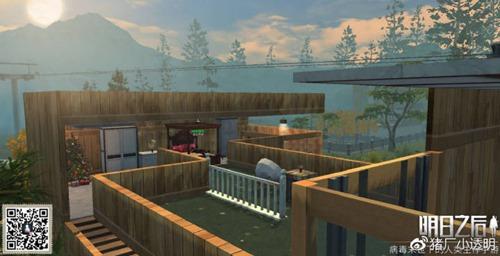 明日之后美式泳池房子设计图 豪华建筑推荐第18期