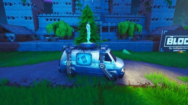 堡垒之夜地图惊现复活车 复活功能后续将出