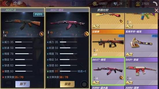 CF手游AK47-B评测