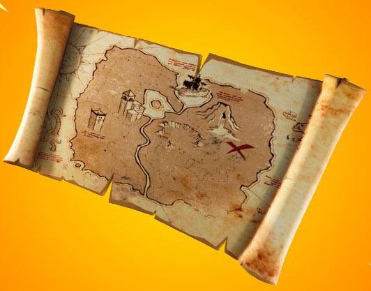 堡垒之夜藏宝图玩法即将登场 一起寻找X的宝藏