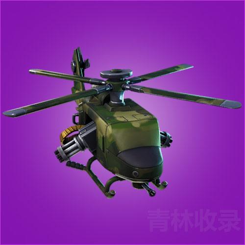 堡垒之夜手游直升机怎么得 直升机滑翔伞介绍
