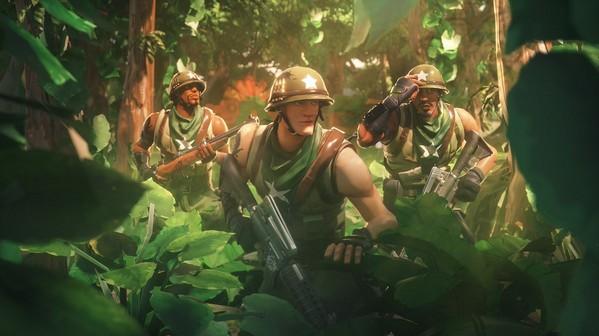 堡垒之夜手游同人作品 军需少校