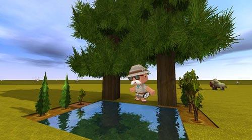 迷你世界植树节3