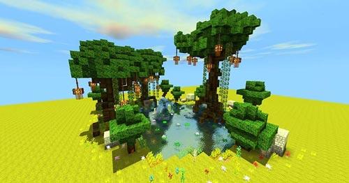 迷你世界植树节8