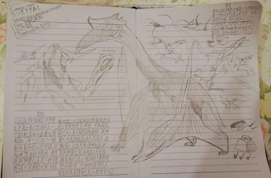 方舟生存进化手绘原画