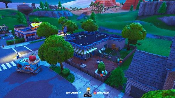 堡垒之夜v8.1地图改动 维京营地增加端倪频出