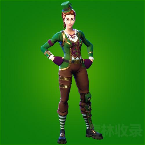 堡垒之夜手游绿色幸运草中士怎么得 绿色幸运草中士皮肤获取介绍