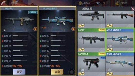 CF手游M249S评测 挑战强化性能全面增幅
