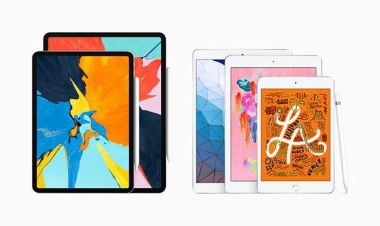 苹果两款ipad