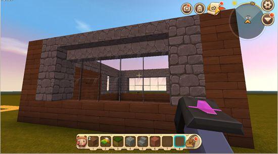 迷你世界房子教程两侧墙壁