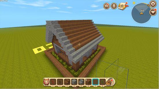 迷你世界房子教程屋顶