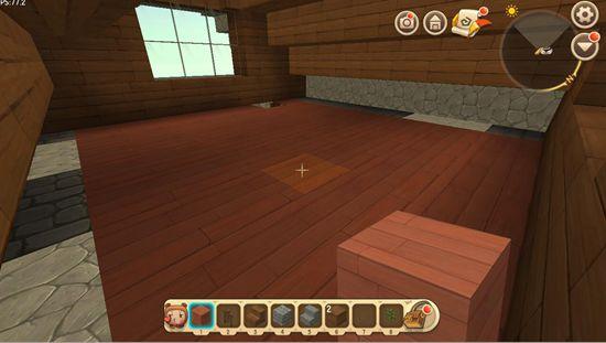 迷你世界房子教程二楼地板