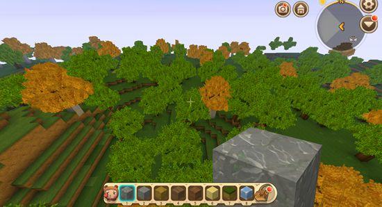 迷你世界树林地形码