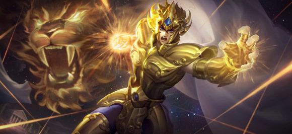王者荣耀达摩黄金狮子座