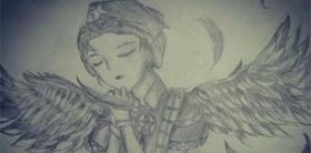 第五人格手绘天使医生艾米丽黛儿