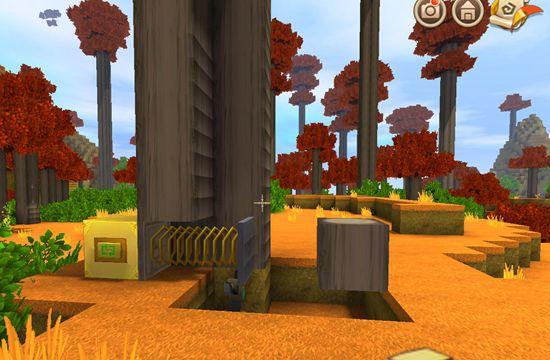 迷你世界自动伐木机