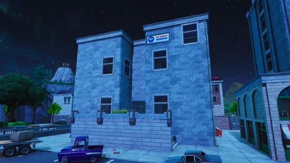 堡垒之夜v8.2地图改动 斜塔小镇重建维京营地势力扩展