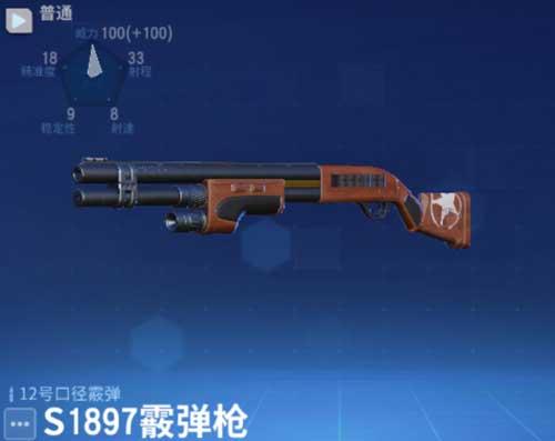 堡垒前线S1897霰弹枪