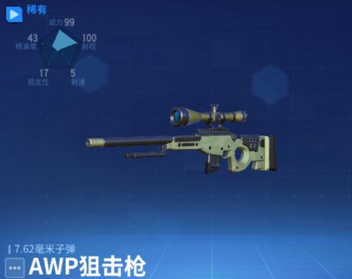 堡垒前线AWP狙击枪