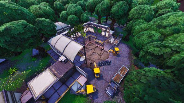 堡垒之夜废弃仓库再度被挖掘 挖出岩浆岛屿危机