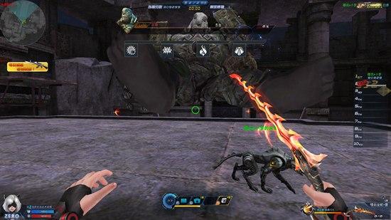 生死狙击游戏截图-一只boss颓废的坐在空中
