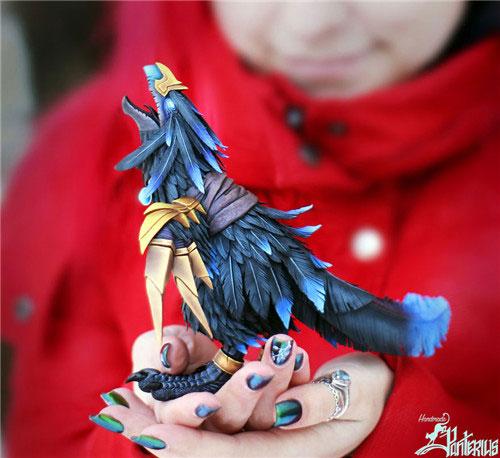 魔兽世界生物雕塑