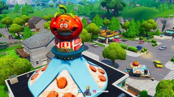 堡垒之夜v8.3地图改动 番茄头进入零售商场