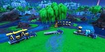 堡垒之夜战利湖开始挖掘 疑似在寻找紫色魔方