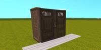 迷你世界衣柜家具怎么做