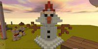 迷你世界怎么做雪巨人