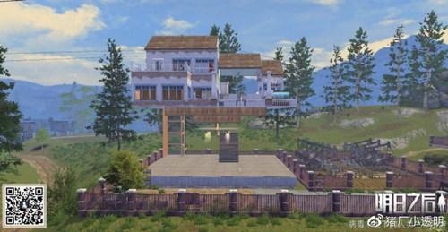 明日之后浮空小别墅平面设计图 豪华建筑推荐第26期