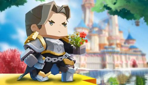 迷你世界骑士兰斯洛特皮肤 剑锋所指正义必达