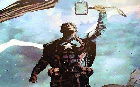复仇者联盟4美国队长图片