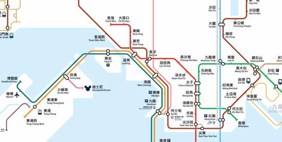 中国香港地铁