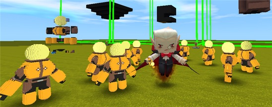 迷你世界微缩战队即将登场 来组建自己的队伍吧!