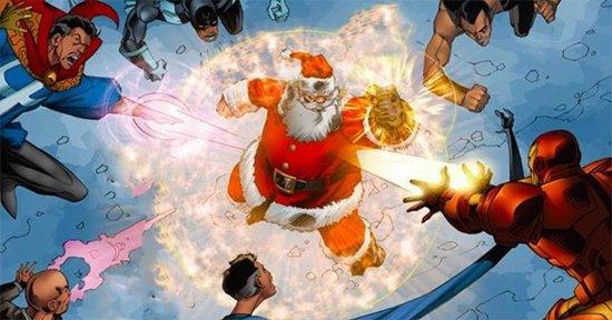 漫威中超过10人曾经拥有过无限手套!圣诞老人都用过