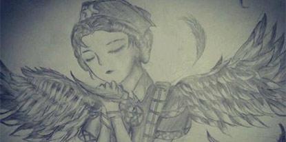 第五人格手绘之天使医生艾米丽黛儿
